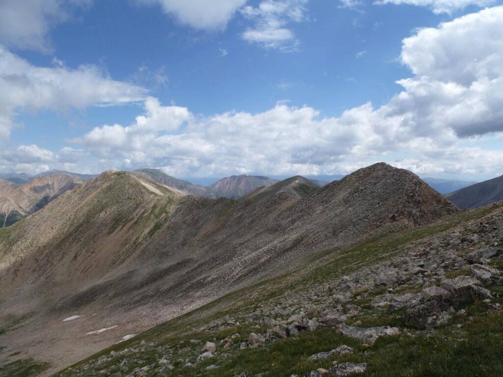 Ridge to Brown's Peak