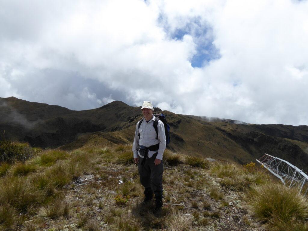 Mount Hagen summit is top left in this photo