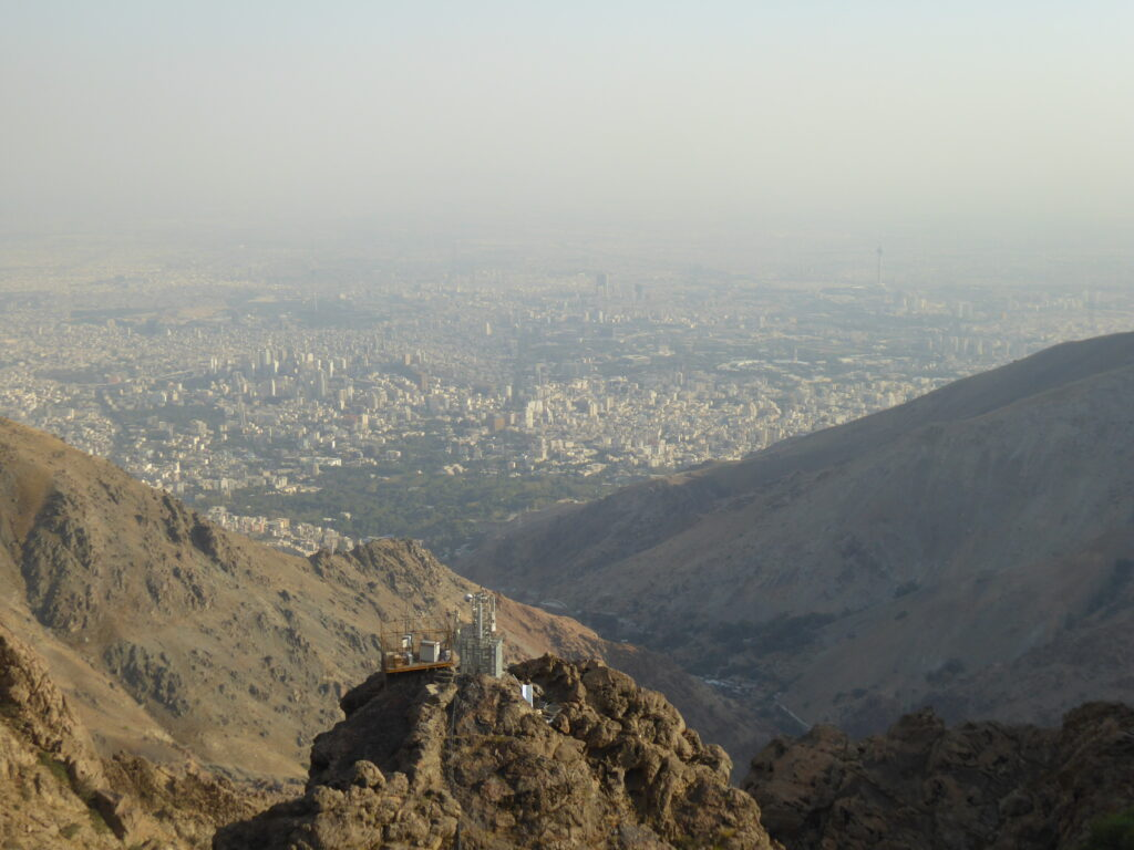 View from the Shirpala shelter on Mount Tochal