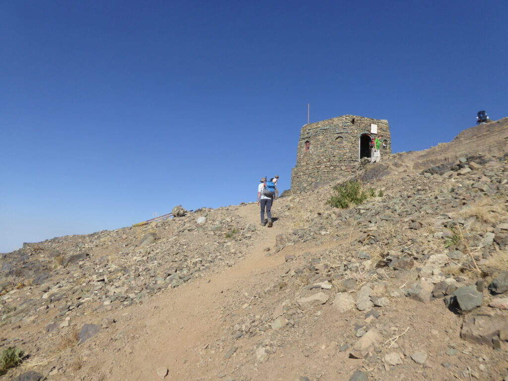 The Amiri shelter on Mount Tochal
