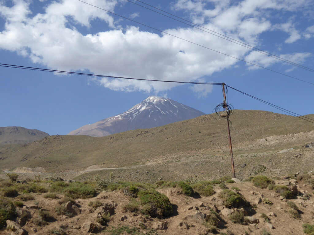 Damavand - one of the volcanic seven summits