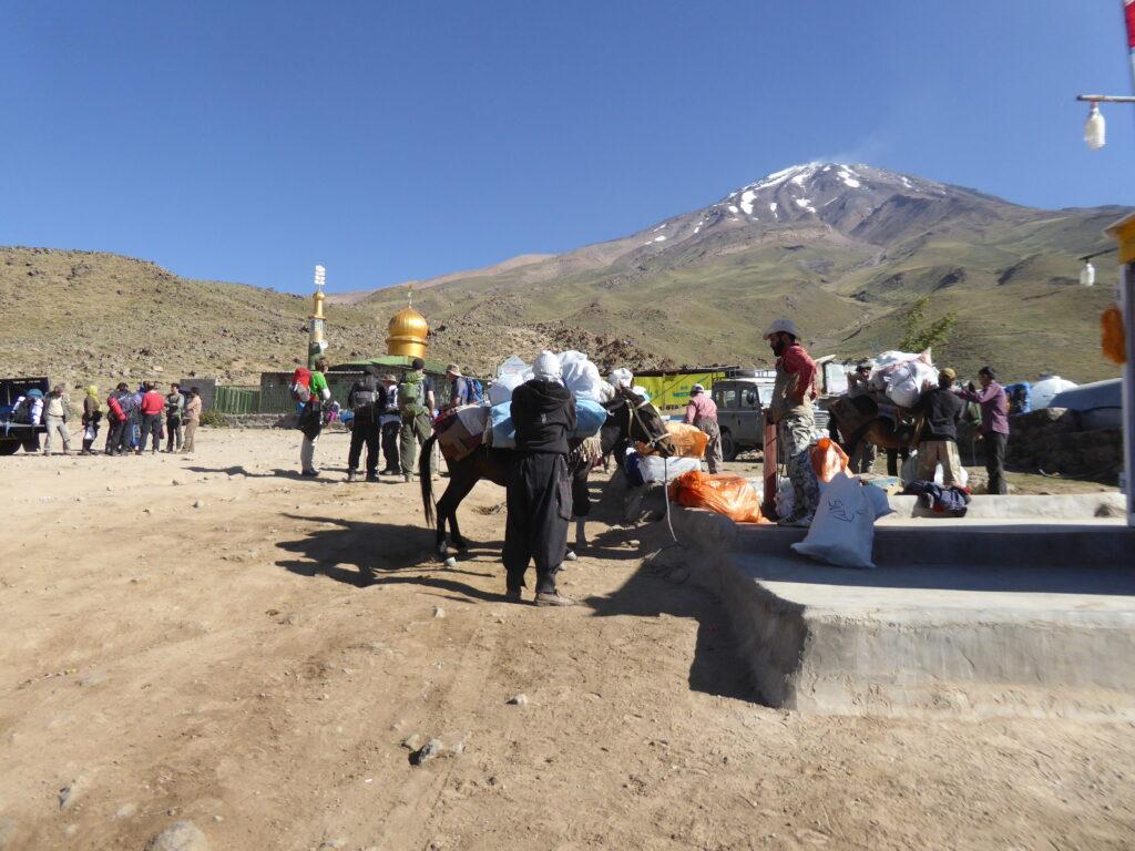 Preparing for the Damavand climb