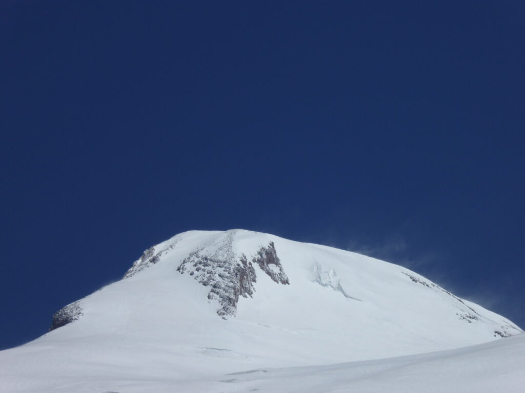 The west summit of Mount Elbrus