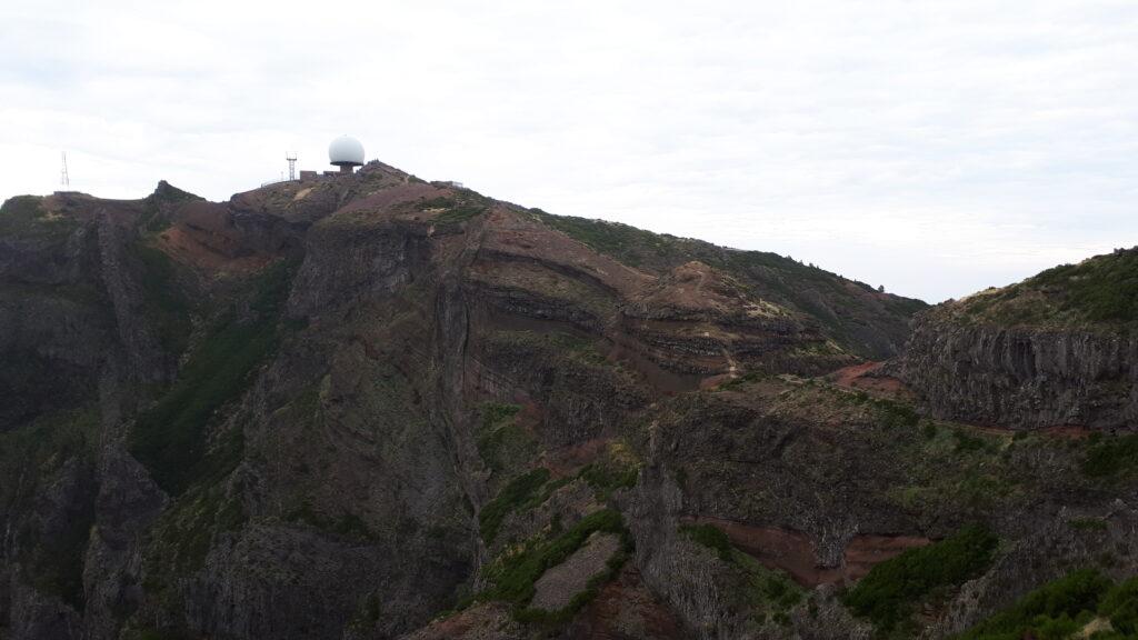 View back to Pico Areiro