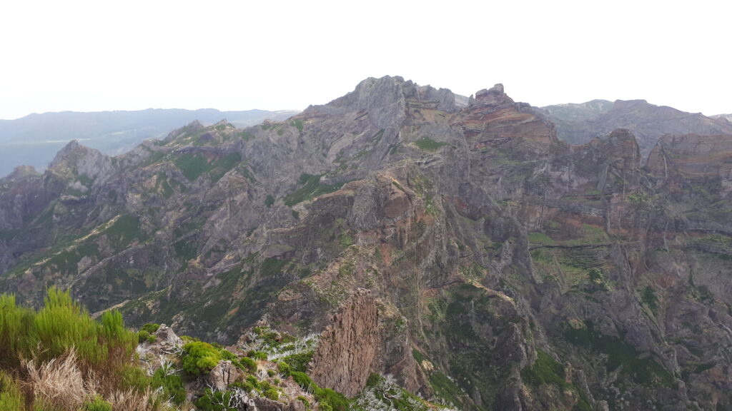 Looking back towards Pico Areiro