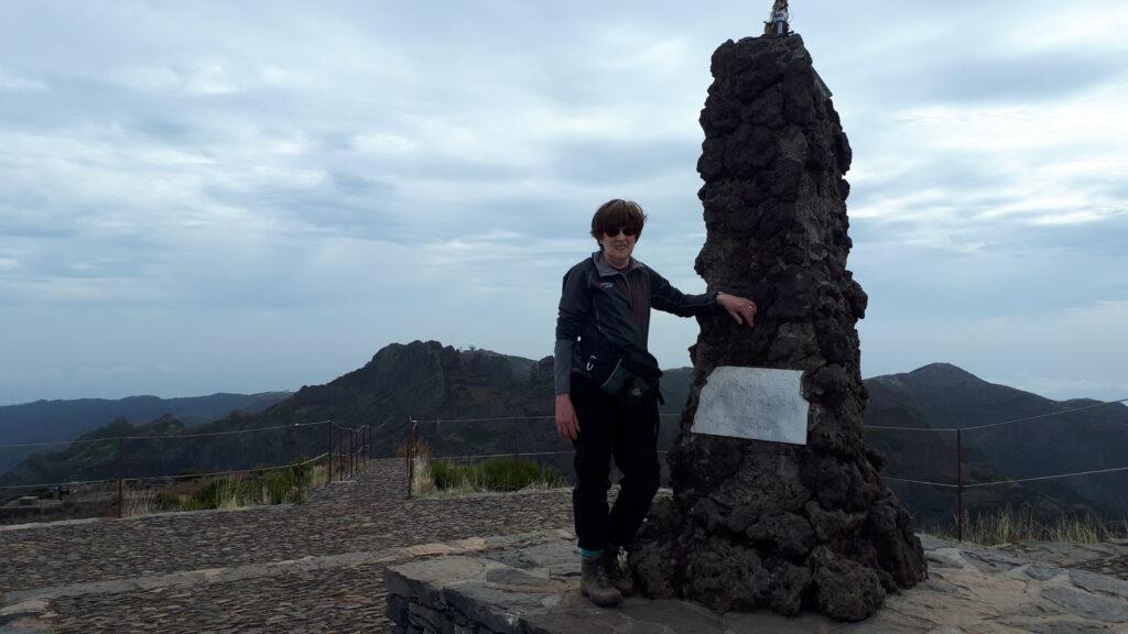 Pico Ruivo summit
