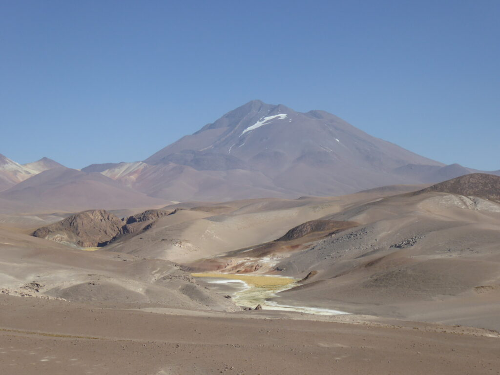 Cerro Llullaillaco - one of the highest volcanoes in the world